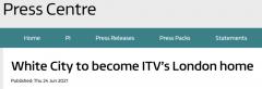 英国第二大电视台